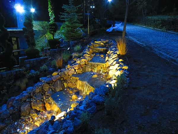 осветление водни ефекти