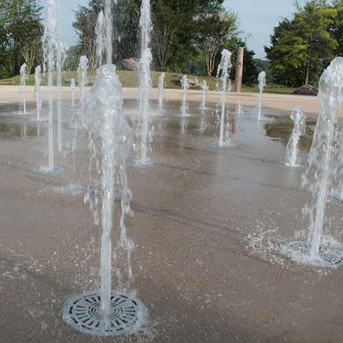 сух фонтан