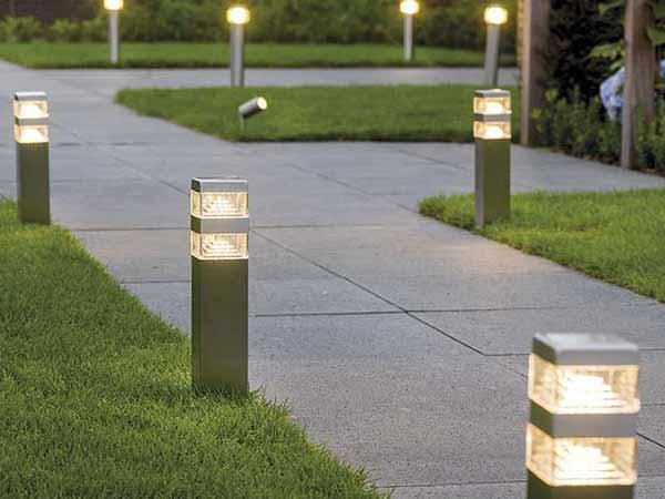 ниско градинско осветление