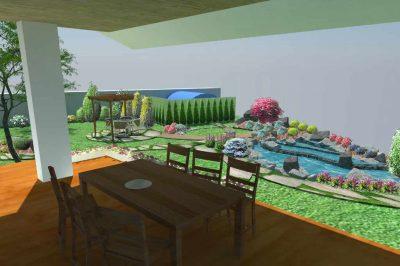 3Д визуализация озеленяване