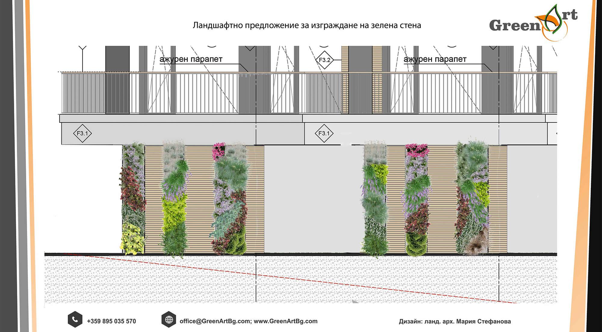 проект за вертикални градини